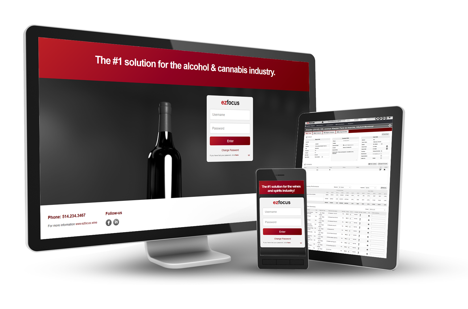 wine and spirits crm
